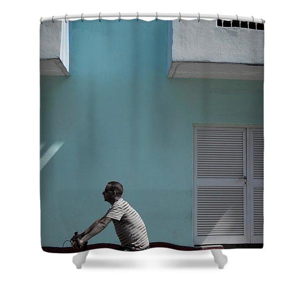 Cuba #6 Shower Curtain