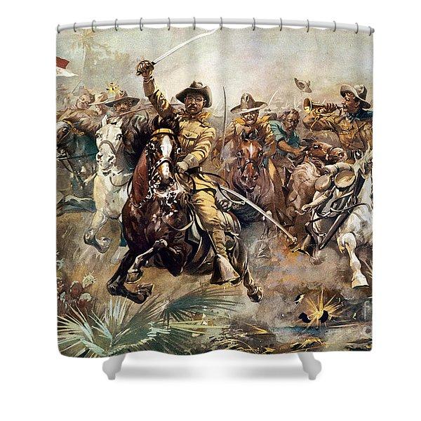 Cuba: Rough Riders, 1898 Shower Curtain