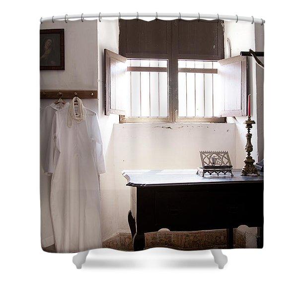 Cuban Church Shower Curtain