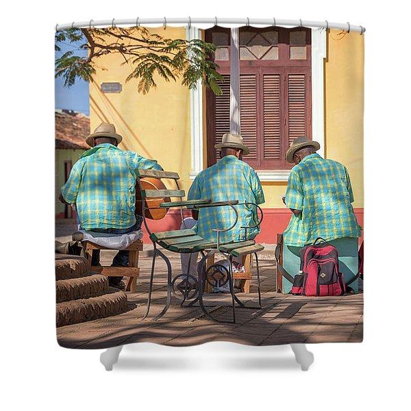 Cuban Music Shower Curtain