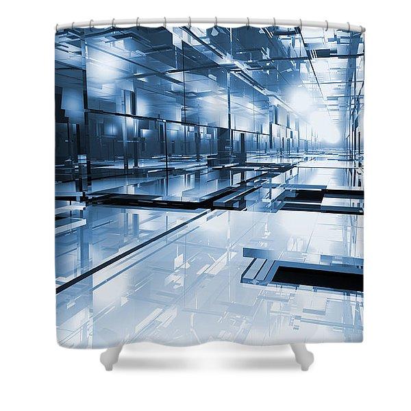 Cube Shower Curtain