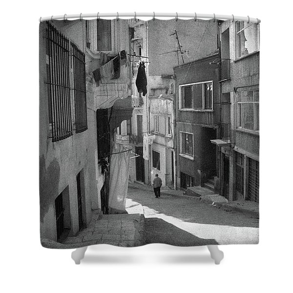 Cul-de-sac Shower Curtain