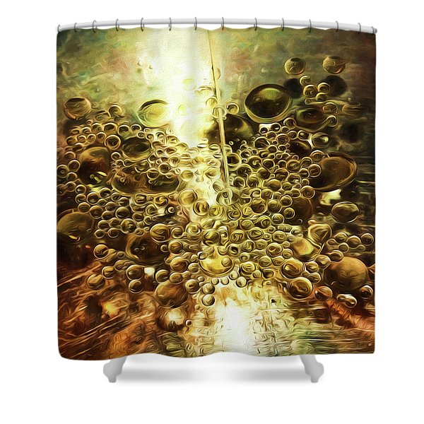 Culinary Abstract Shower Curtain