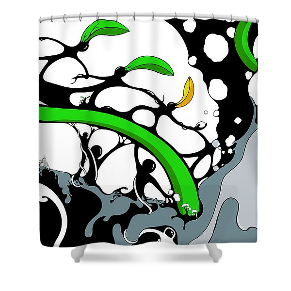 Cultivate Shower Curtain