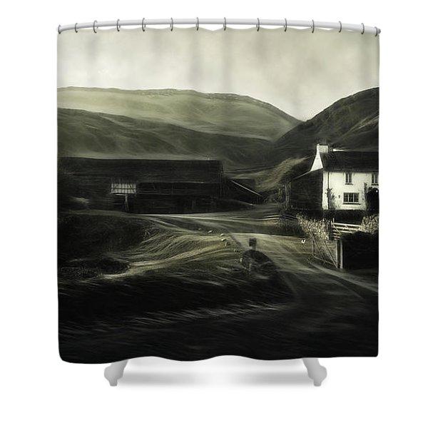 Cumbrian Farm Shower Curtain