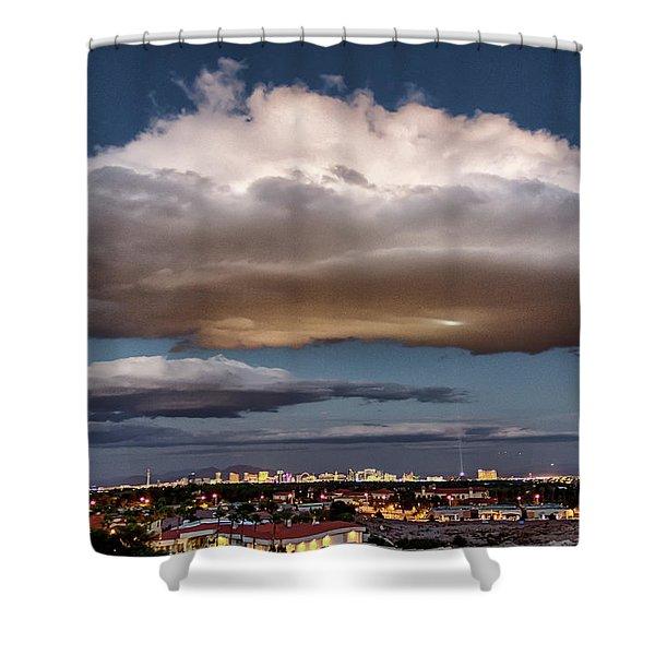 Cumulus Las Vegas Shower Curtain