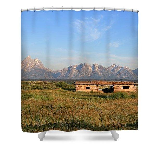 Cunningham Cabin Shower Curtain