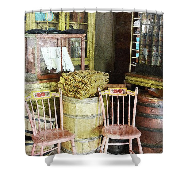 Cupboards Full Of Poetry Shower Curtain