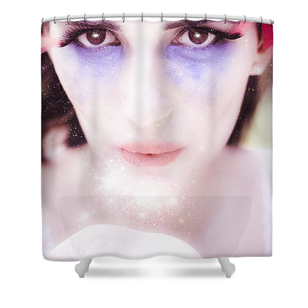 Cupid Kiss Shower Curtain