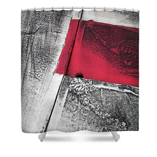 Curbs At The Canadian Formula 1 Grand Prix Shower Curtain