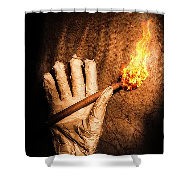 Curse Of The Tomb Robber Shower Curtain