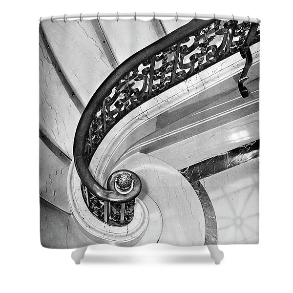 Curves And Light Shower Curtain