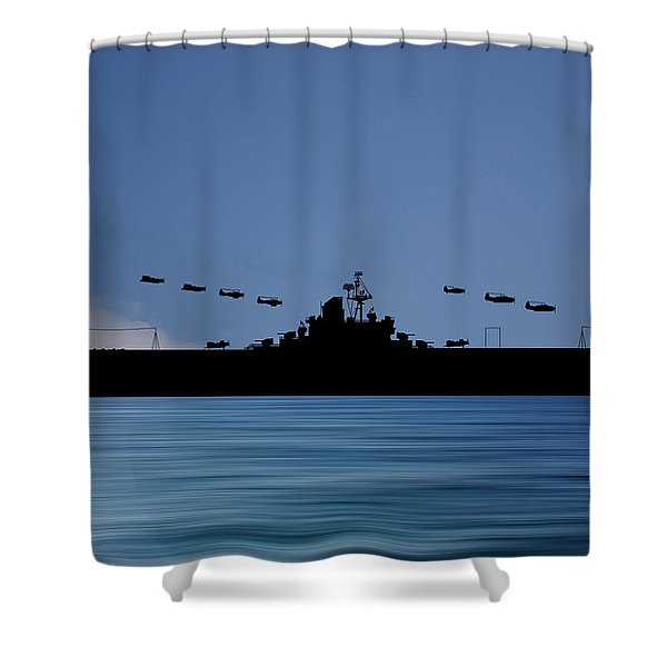 Cus Abraham Lincoln 1941 V4 Shower Curtain
