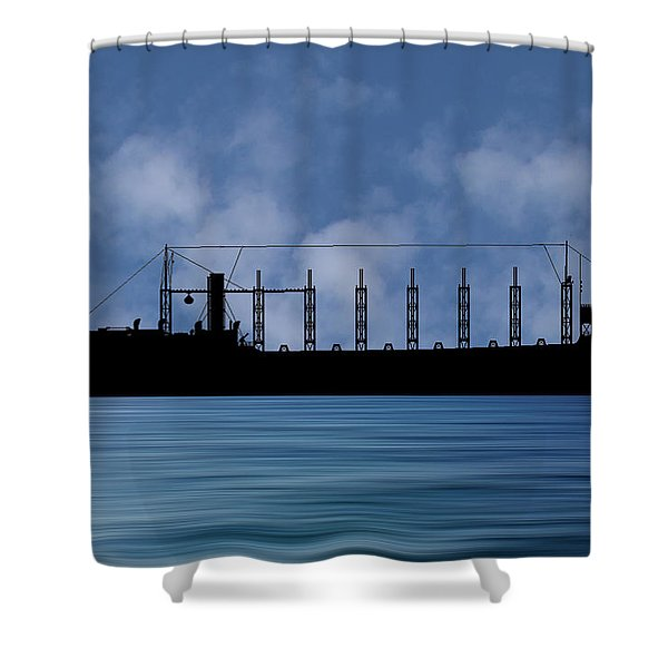 Cus John Adams 1918 V1 Shower Curtain