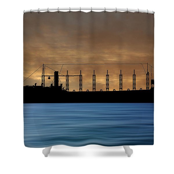 Cus John Adams 1918 V2 Shower Curtain