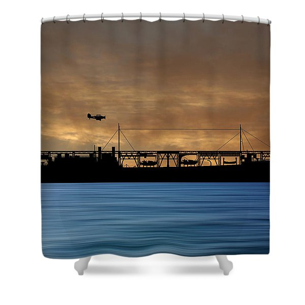 Cus John Adams 1921 V2 Shower Curtain