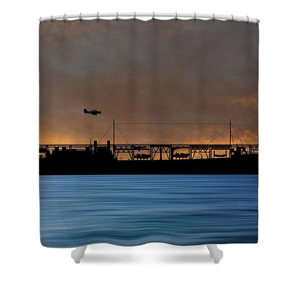 Cus John Adams 1921 V3 Shower Curtain