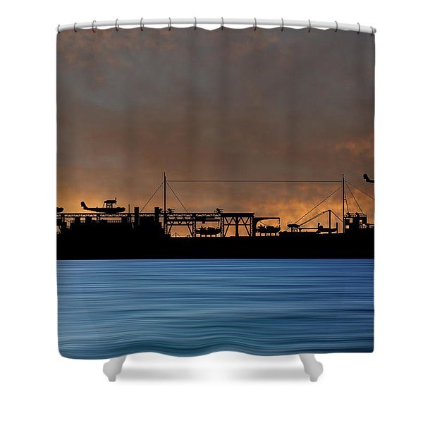 Cus John Adams 1939 V3 Shower Curtain
