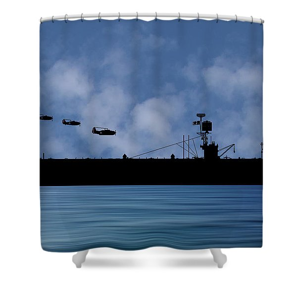 Cus Redwood 1941 V1 Shower Curtain