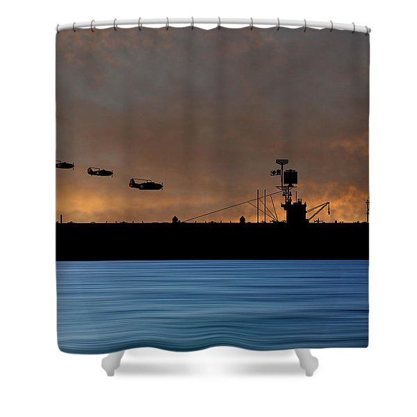 Cus Redwood 1941 V3 Shower Curtain