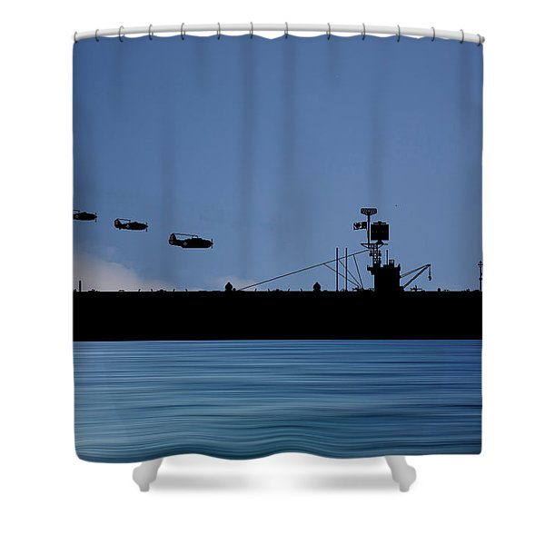 Cus Redwood 1941 V4 Shower Curtain