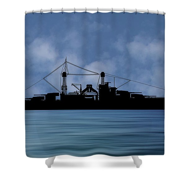 Cus Rhode Island 1928 V1 Shower Curtain