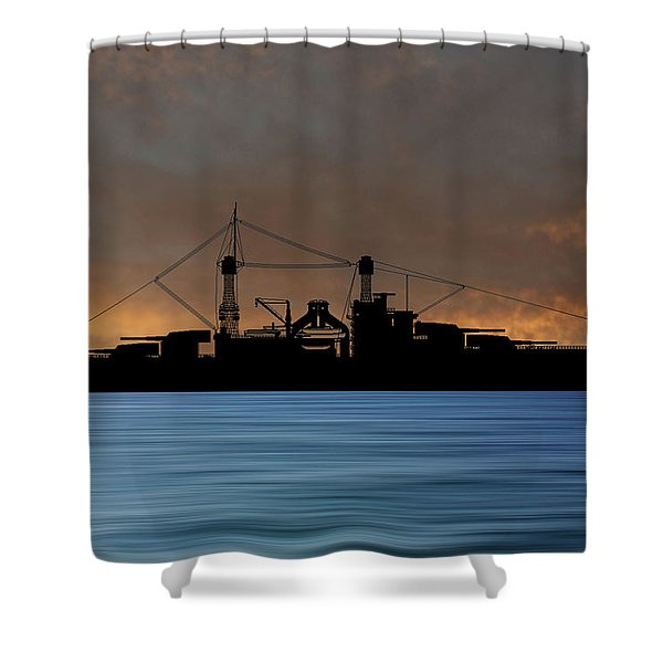 Cus Rhode Island 1928 V3 Shower Curtain