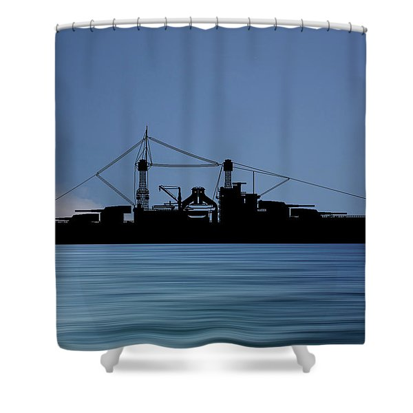 Cus Rhode Island 1928 V4 Shower Curtain