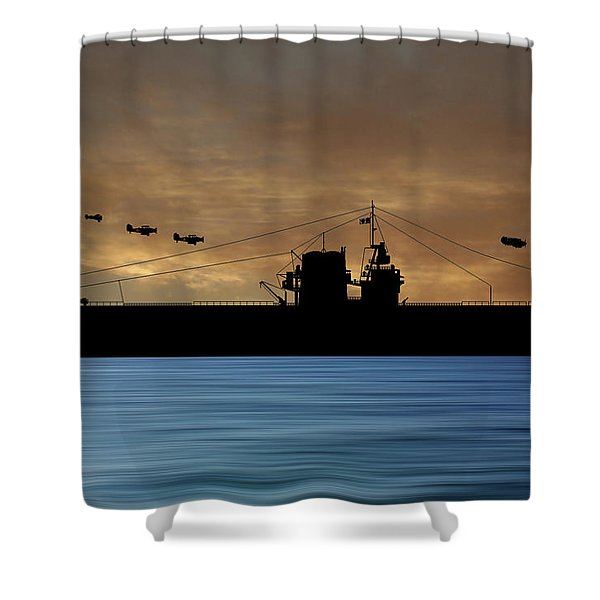 Cus Rhode Island 1929 V2 Shower Curtain