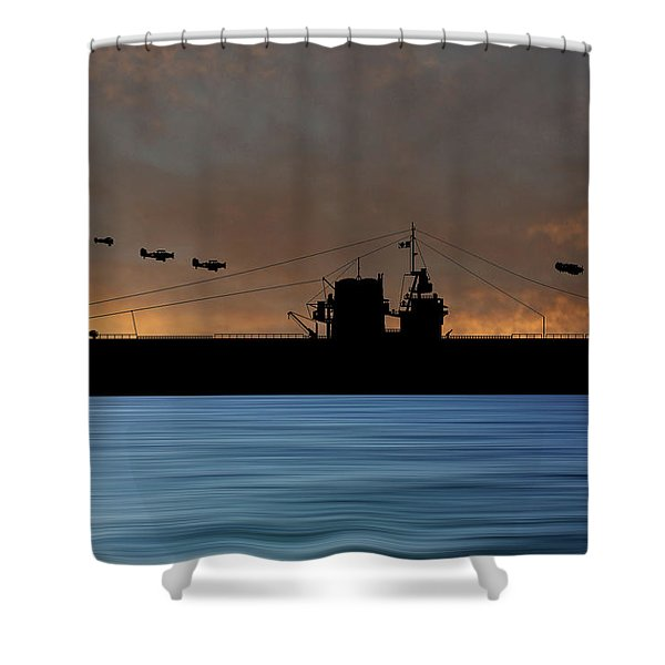Cus Rhode Island 1929 V3 Shower Curtain
