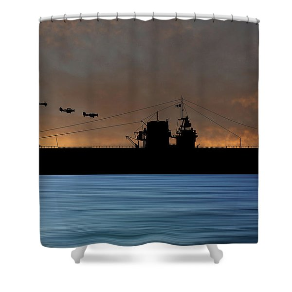 Cus Rhode Island 1930 V3 Shower Curtain