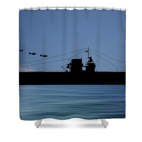 Cus Rhode Island 1930 V4 Shower Curtain