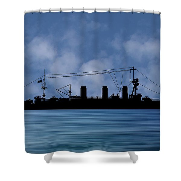 Cus Washington 1910 V1 Shower Curtain