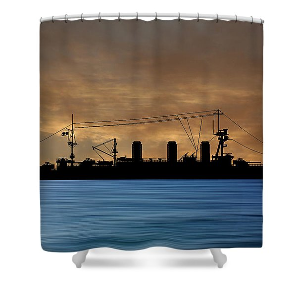 Cus Washington 1910 V2 Shower Curtain
