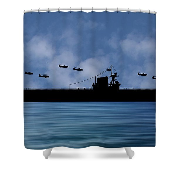 Cus Washington 1938 V1 Shower Curtain