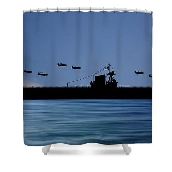 Cus Washington 1938 V4 Shower Curtain