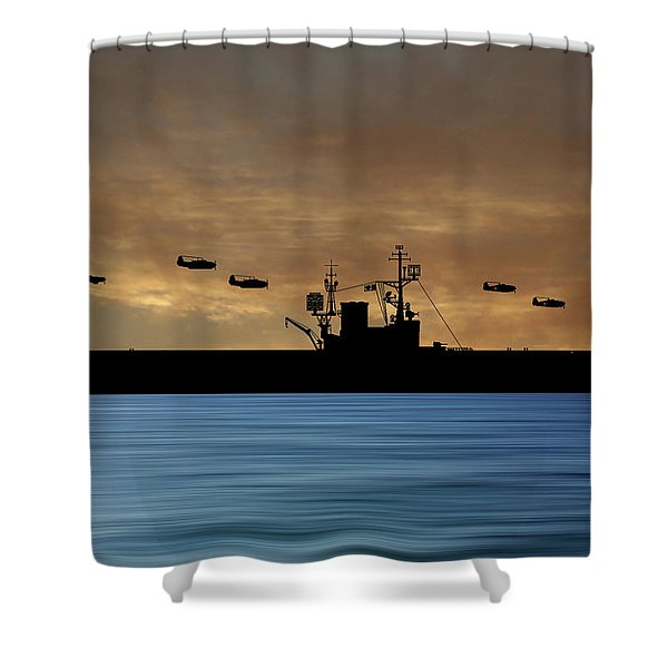 Cus Woodrow Wilson 1944 V2 Shower Curtain