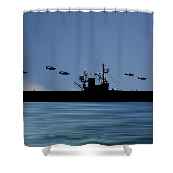 Cus Woodrow Wilson 1944 V4 Shower Curtain