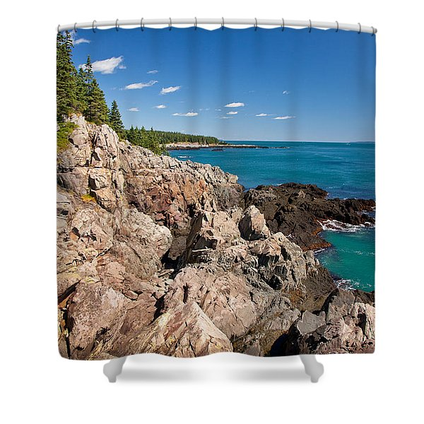 Cutler Cliffs 1 Shower Curtain
