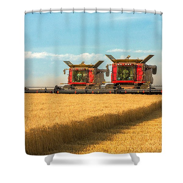 Cutting Wheat Shower Curtain