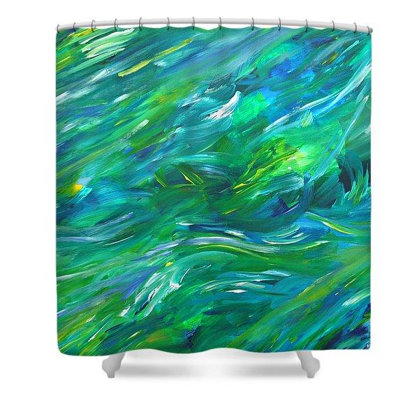 Cy Lantyca 15 Shower Curtain