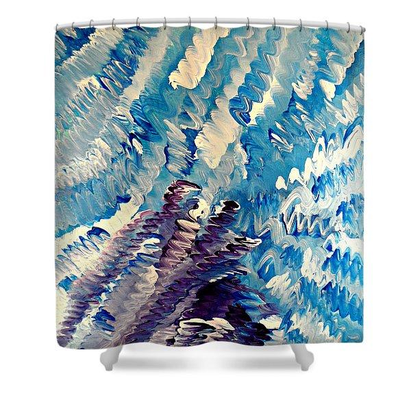 Cy Lantyca 35 Shower Curtain