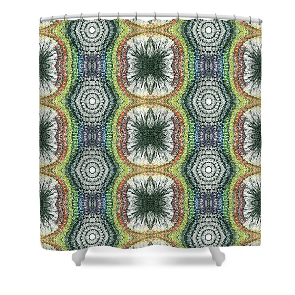 Cymatics Geometry #1545 Shower Curtain