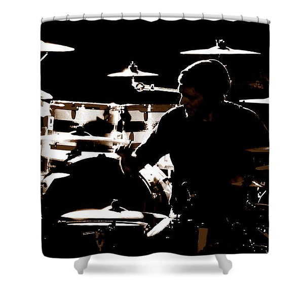 Cymbal-ized Shower Curtain