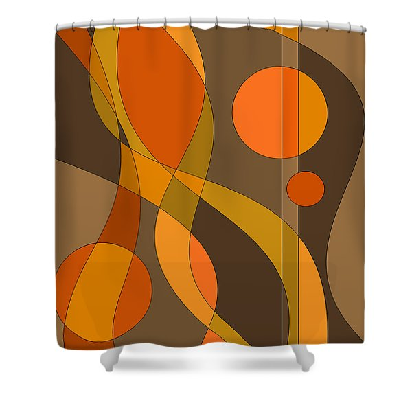 D Minor Shower Curtain