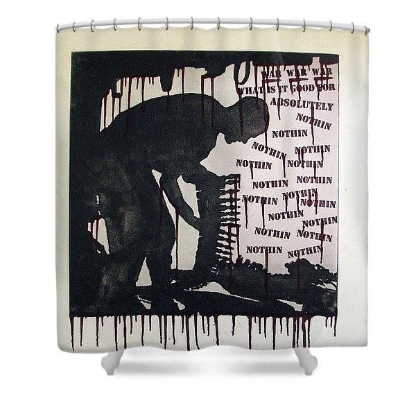 D U Rounds Project, Print 22 Shower Curtain