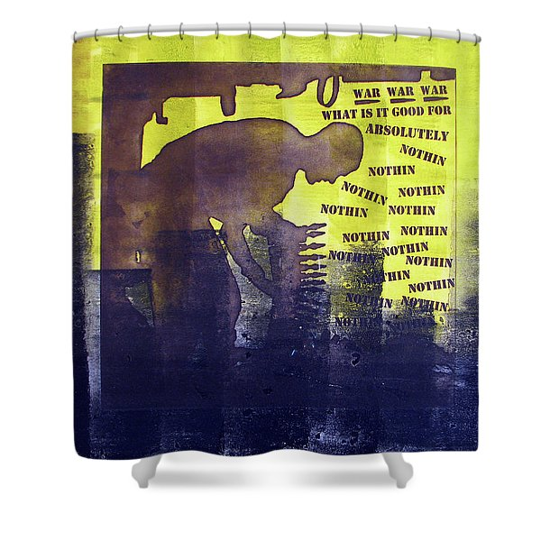 D U Rounds Project, Print 23 Shower Curtain