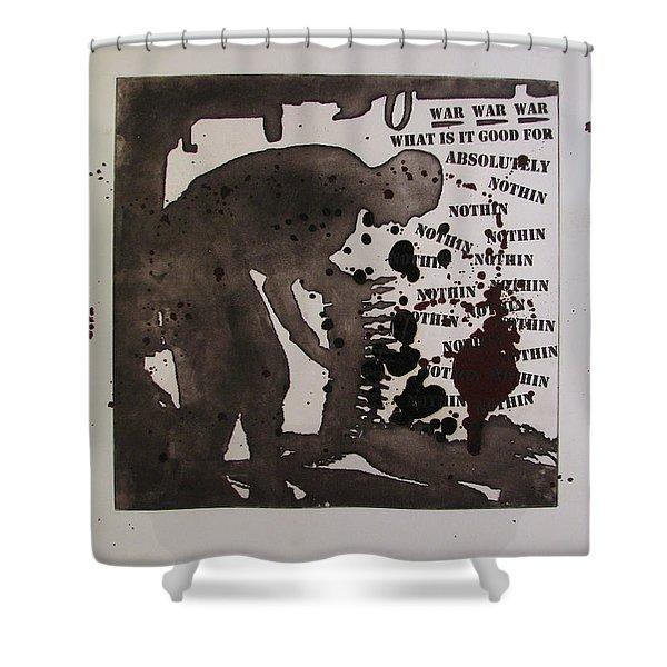 D U Rounds Project, Print 26 Shower Curtain