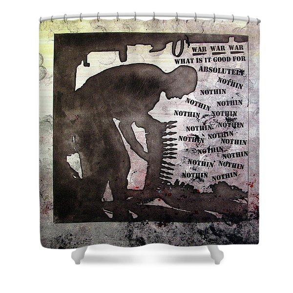 D U Rounds Project, Print 30 Shower Curtain