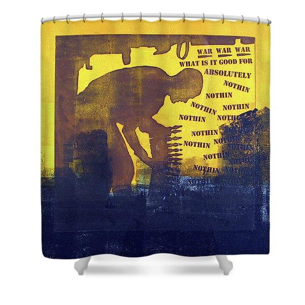 D U Rounds Project, Print 31 Shower Curtain